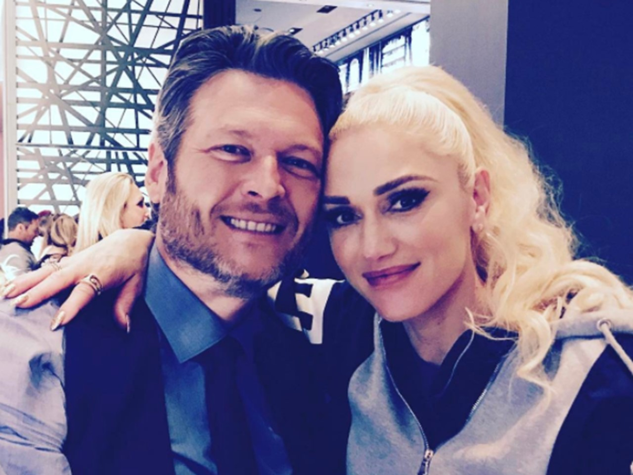 A blake shelton gwen stefani clothing line collaboration in the works m4hsunfo