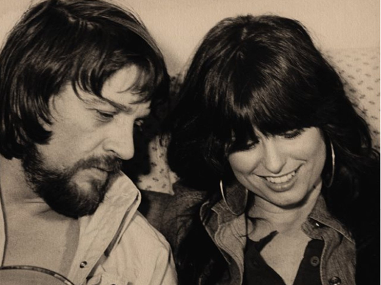 Waylon Jennings and Jessi Colter