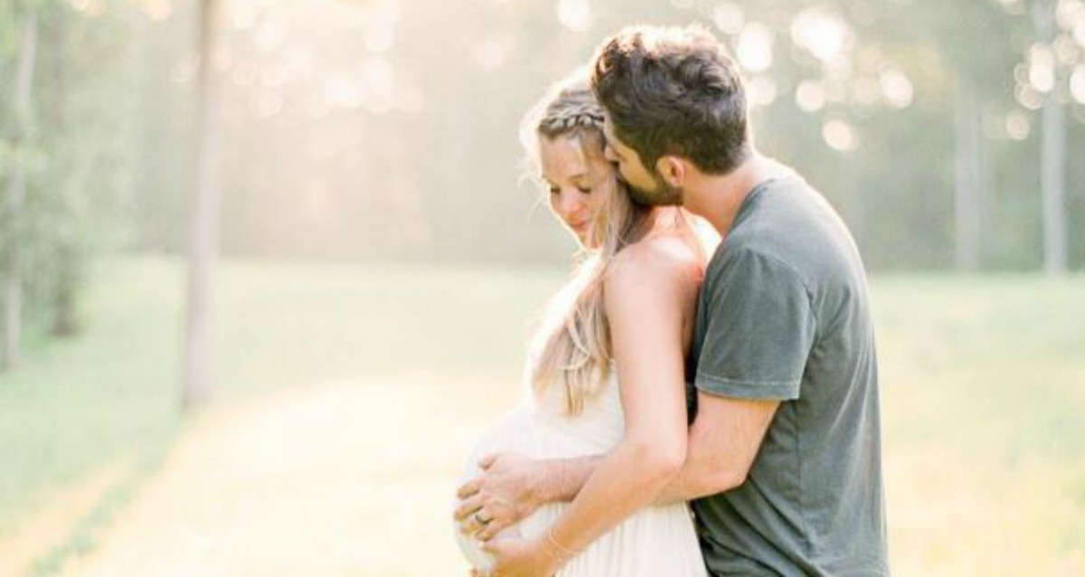 Thomas Rhett and Lauren Akins Maternity Shoot