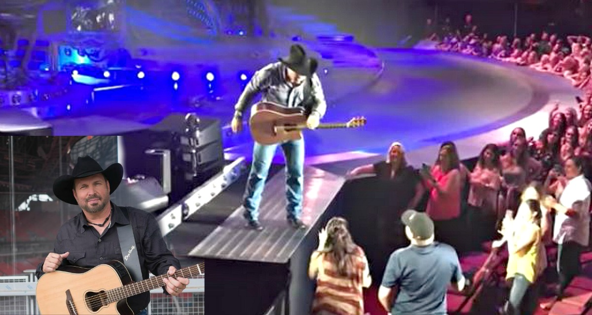 Garth Brooks Helps Happy Parents-To-Be With Gender Reveal and ...