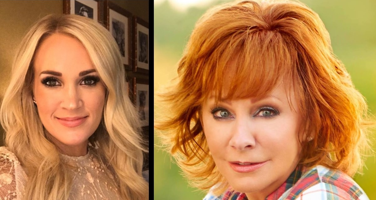 Carrie Underwood and Reba