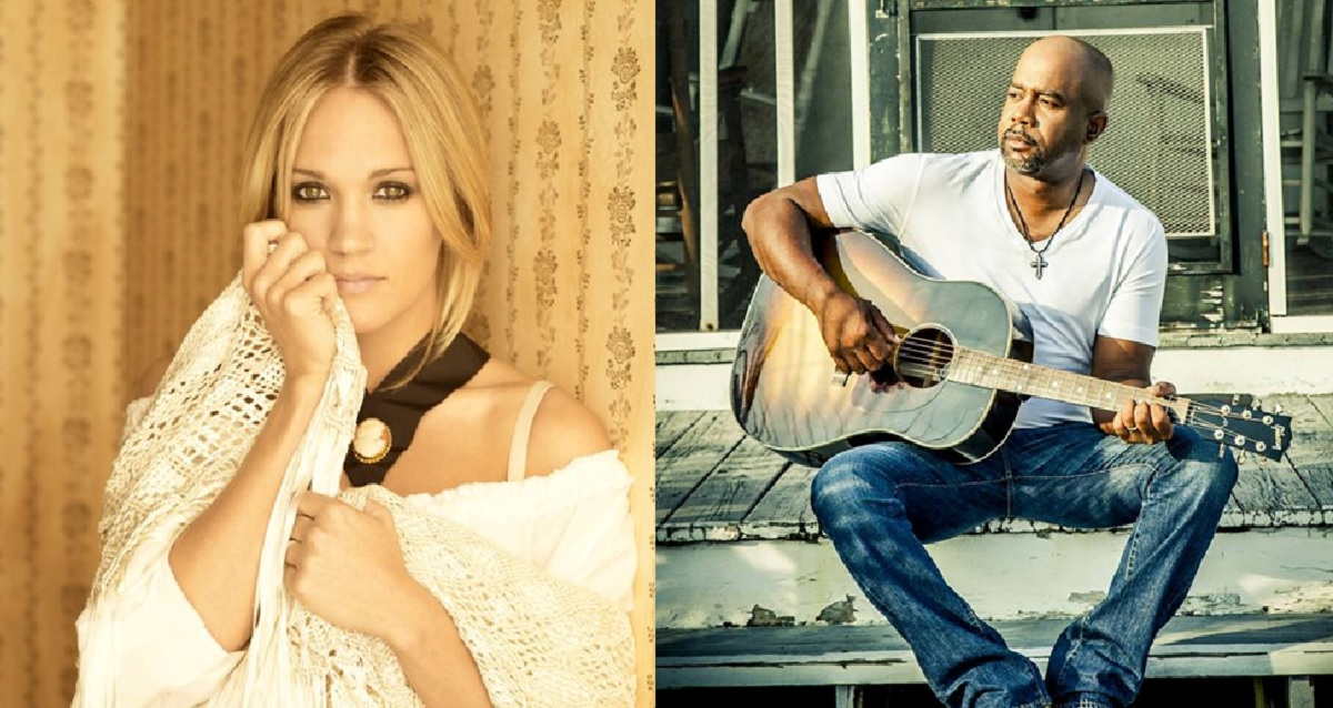 Carrie Underwood and Darius Rucker