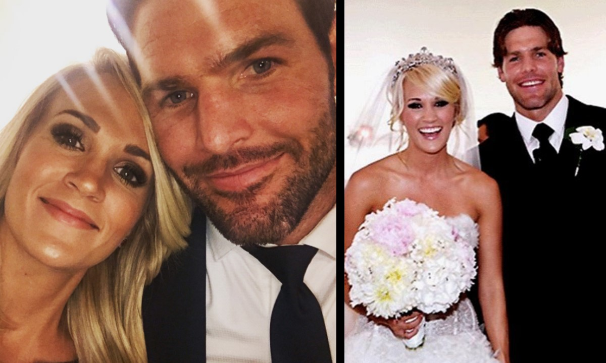 Mike fisher recreates how he wooed carrie underwood video kristyandbryce Images