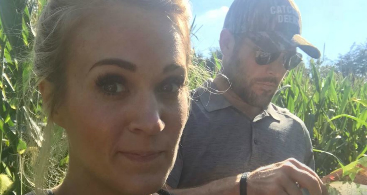 Carrie Underwood is Scared of THIS Animal! [Photo]