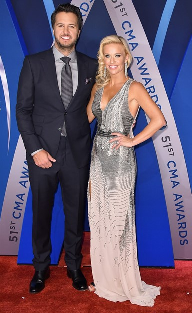 luke bryan caroline boyer bryan cma awards