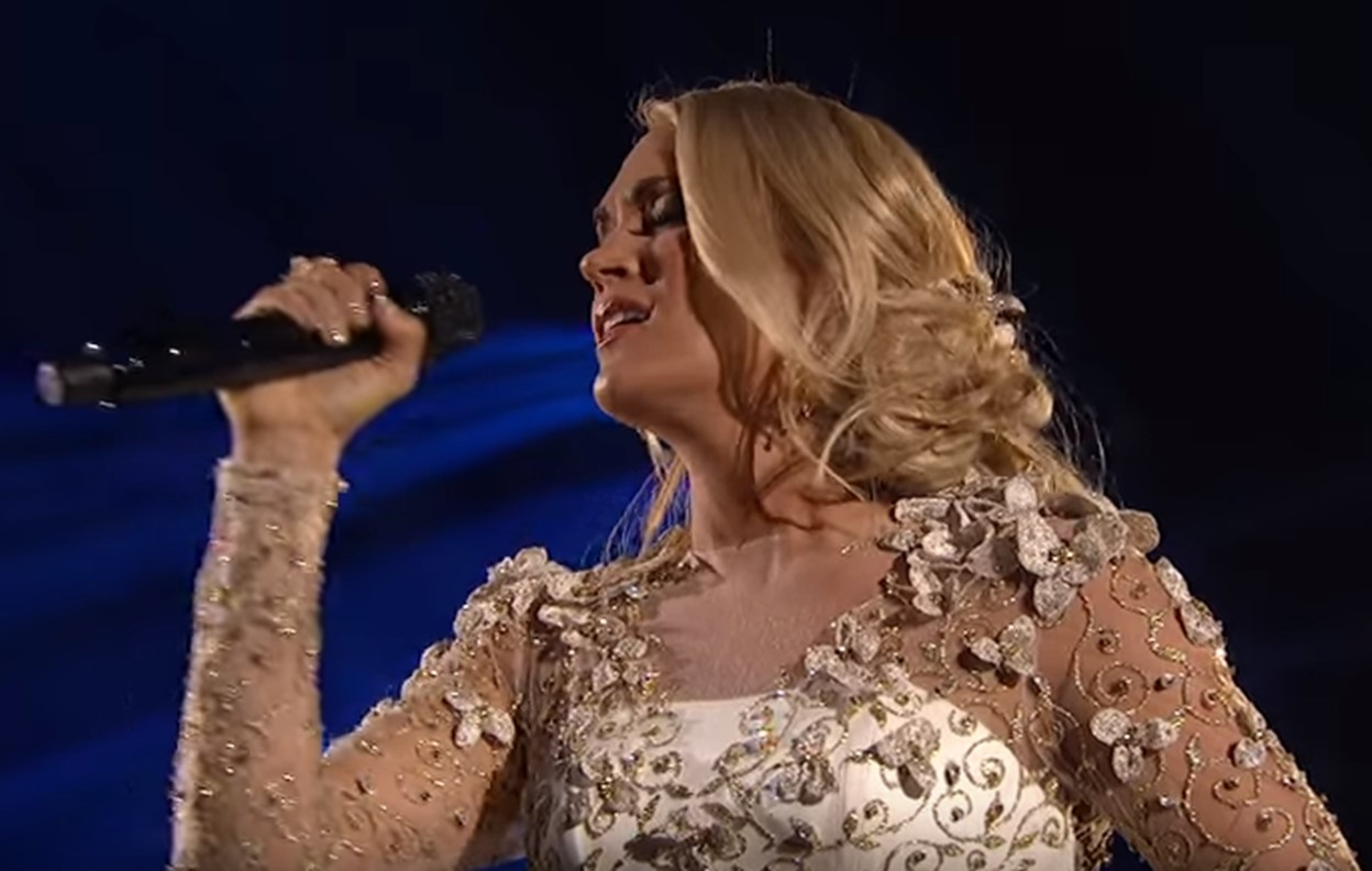 carrie underwood softly and tenderly