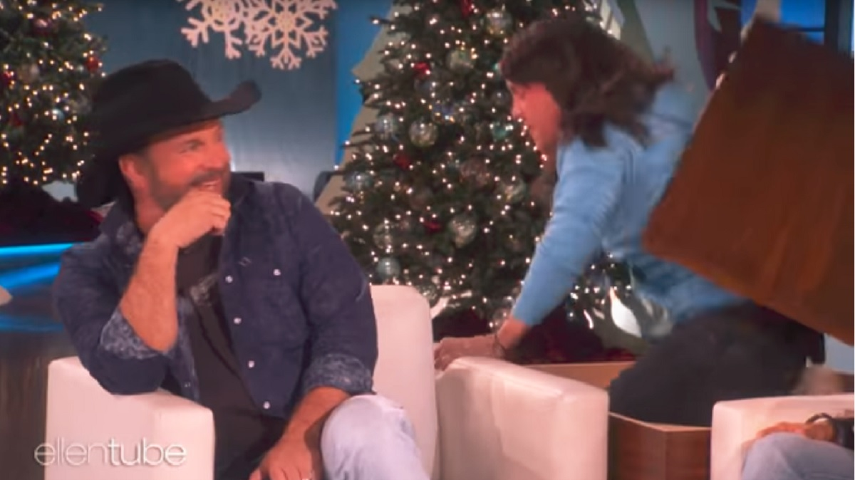 Garth Brooks The Ellen Show