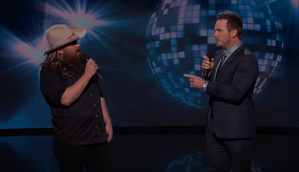 chris stapleton chris pratt dirty dancing