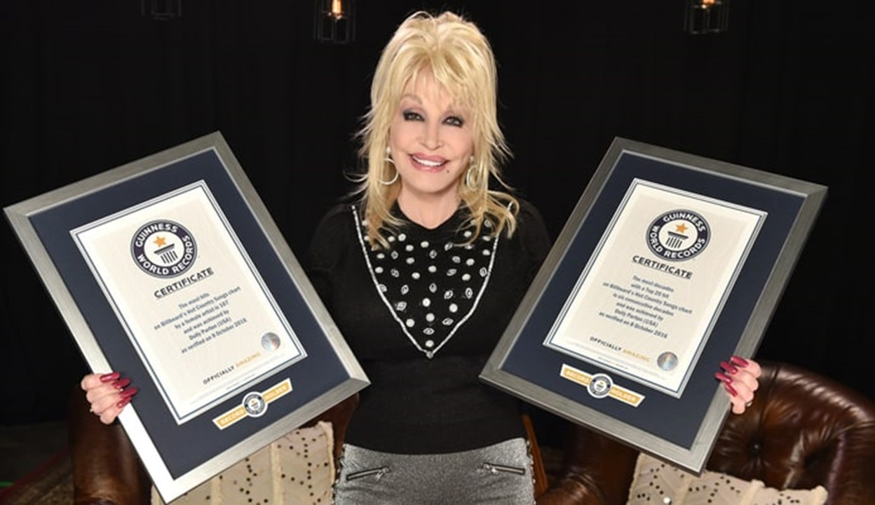 dolly parton guinness world records