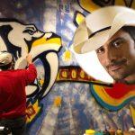 brad paisley mural