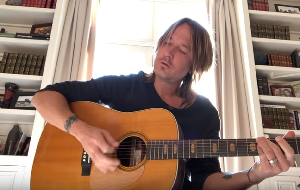 keith urban acoustic female