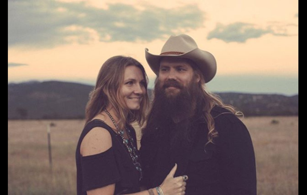 Winning team get to know chris stapleton 39 s wife morgane for How many kids does chris stapleton have