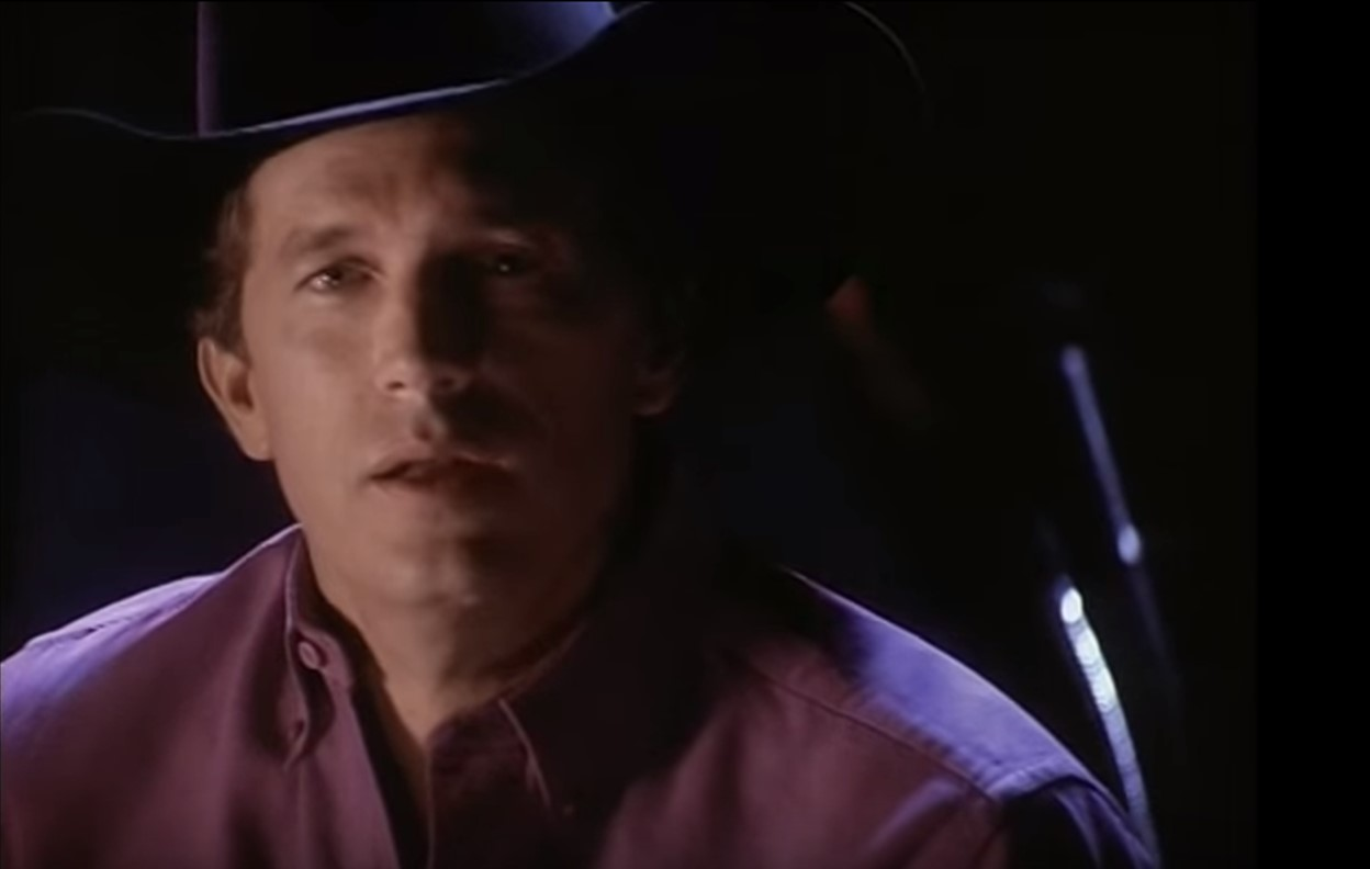 george strait the man in love with you