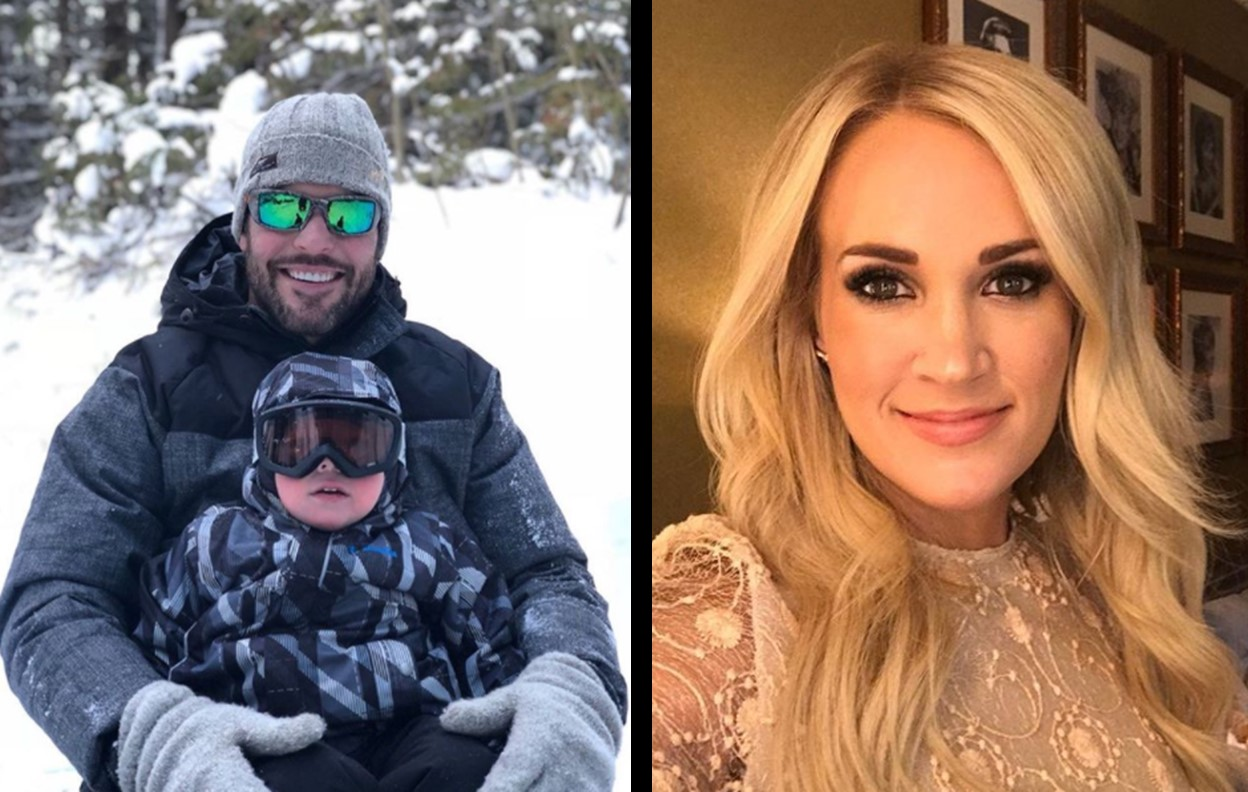 carrie underwood son three