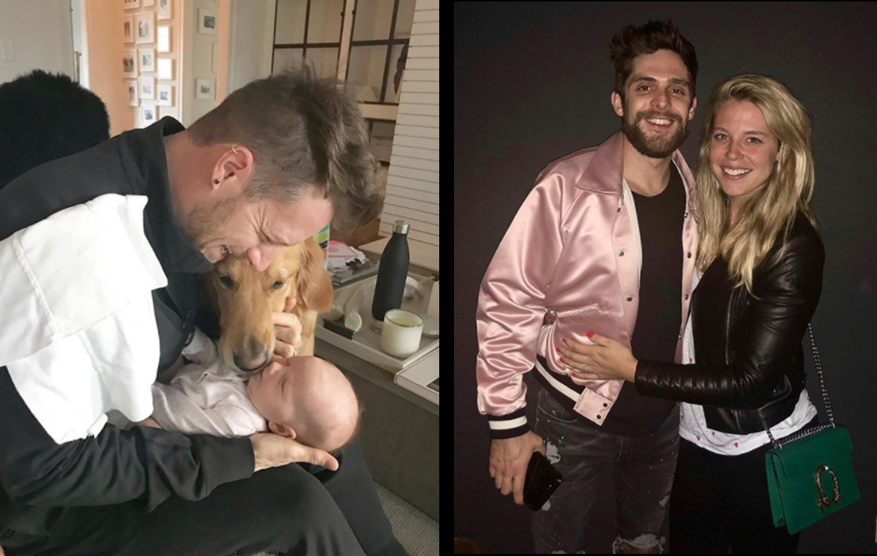 tyler hubbard thomas rhett fatherhood