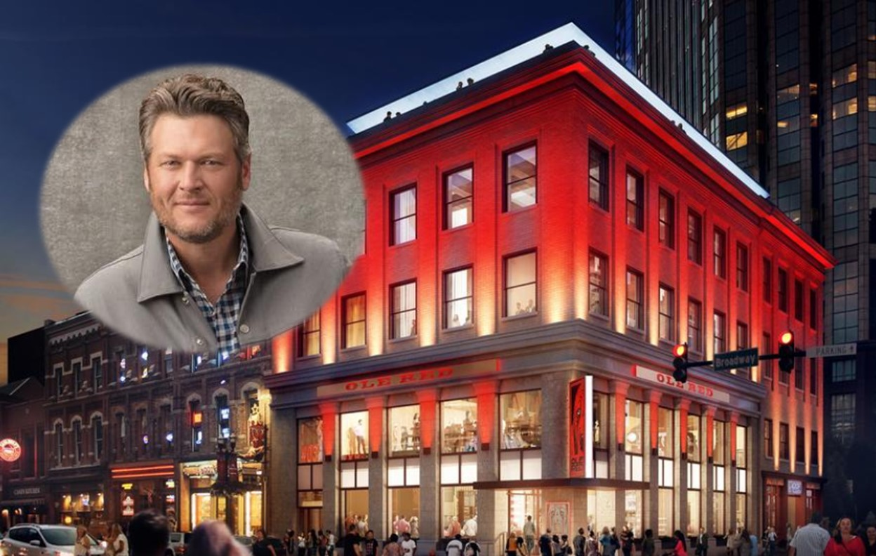 blake shelton ole red nashville