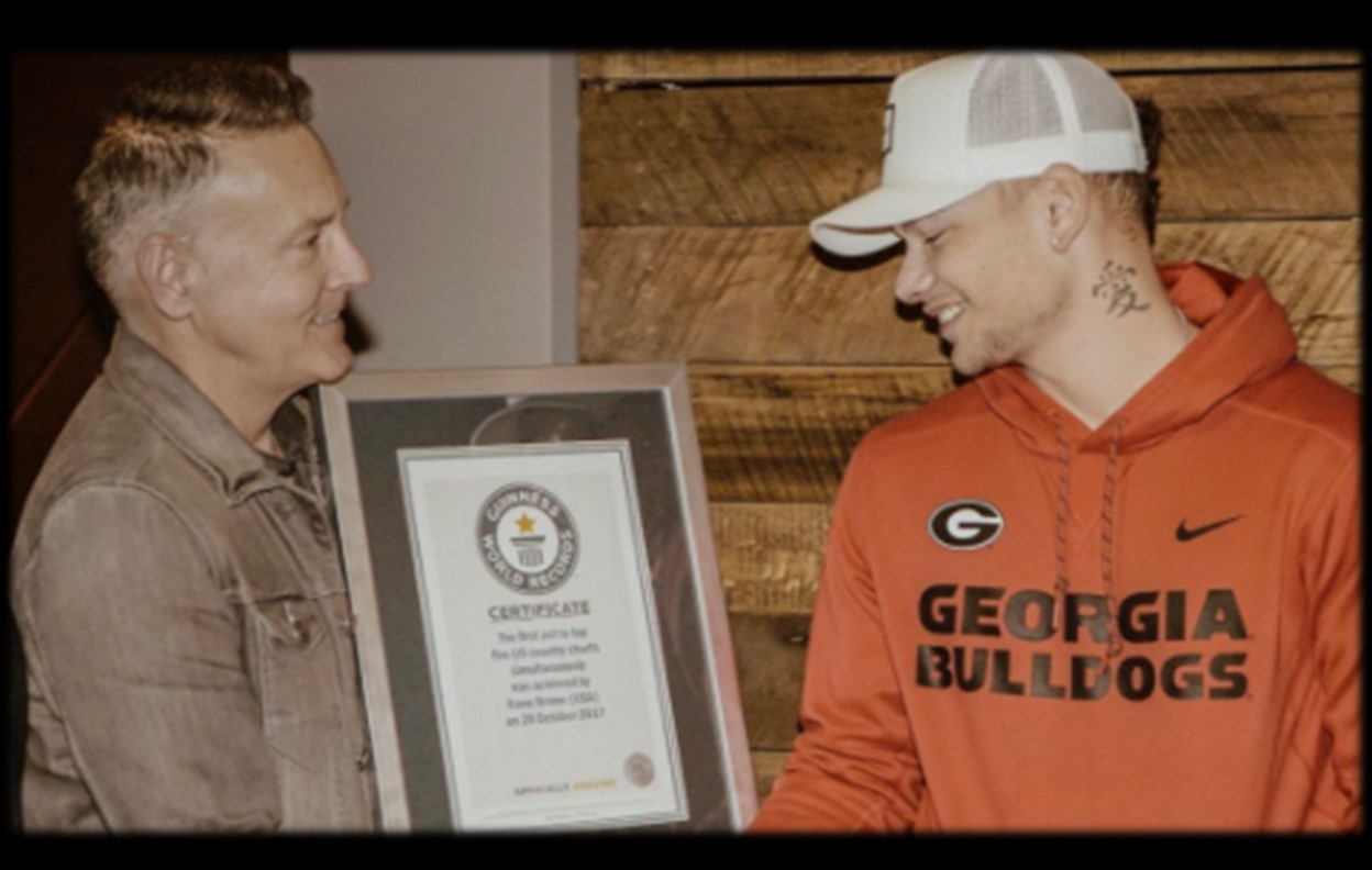 kane brown guinness world record