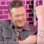 blake shelton tattoos