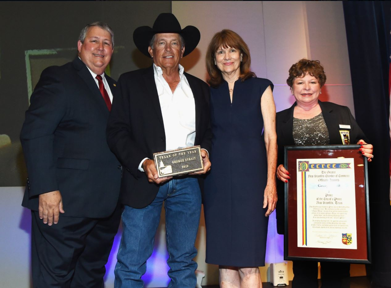 george strait texan of the year