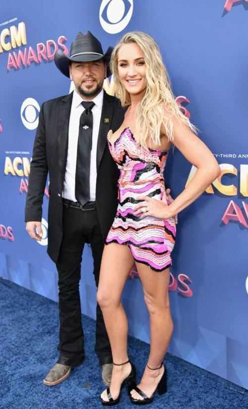 JASON ALDEAN 2018 ACM AWARDS RED CARPET