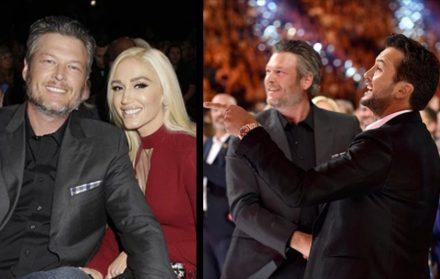Blake Shelton And Gwen Stefani Wedding Pictures.Luke Bryan Offers To Officiate Blake Shelton And Gwen Stefani S Wedding