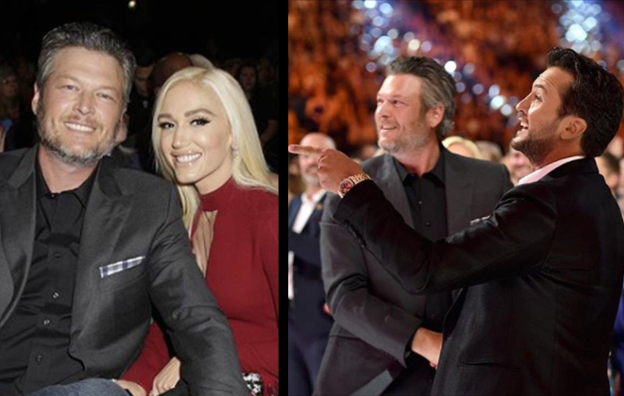 Luke Bryan Offers to Officiate Blake Shelton and Gwen Stefani's Wedding
