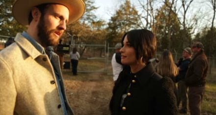 Kacey Musgraves & Husband Ruston Kelly Bring Johnny Cash Love Letter to Life [WATCH]