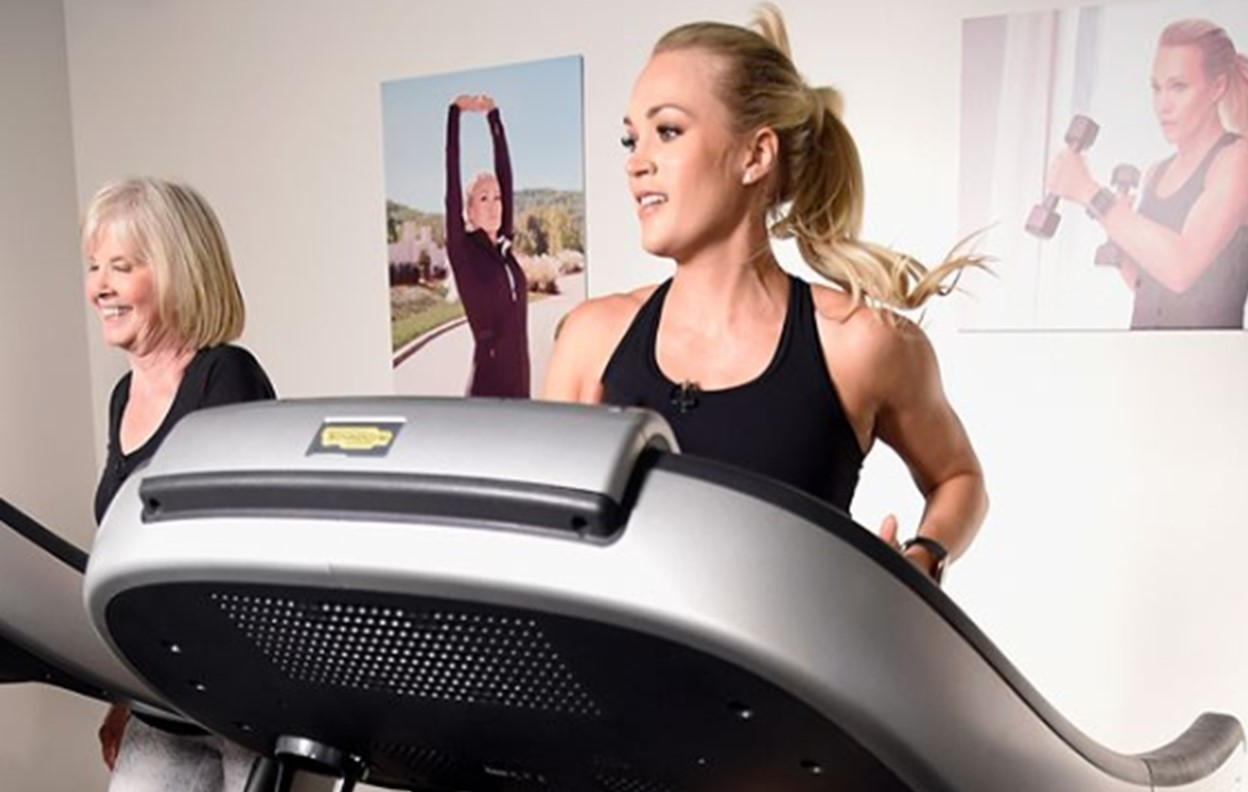 carrie underwood favorite workouts