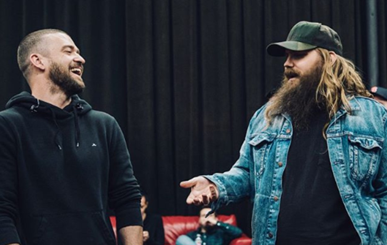 justin timberlake chris stapleton say something