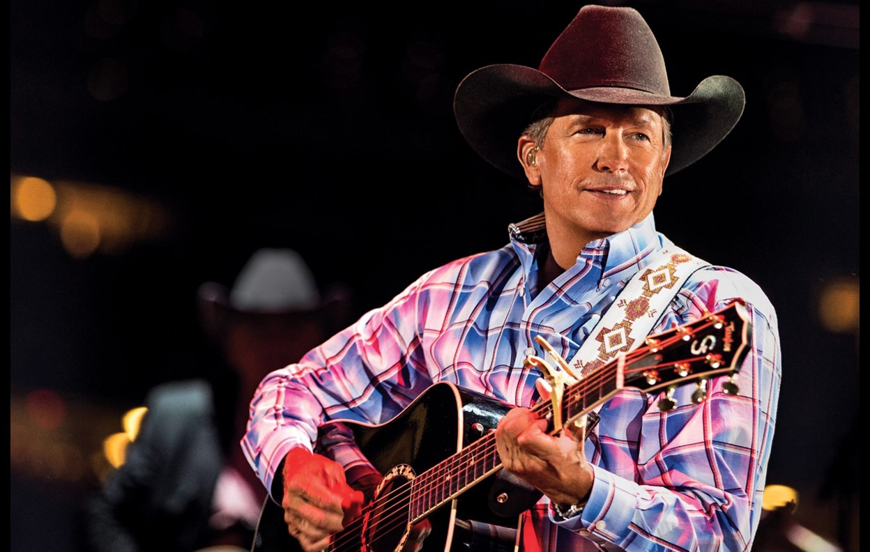 george strait Houston Livestock Show and rodeo