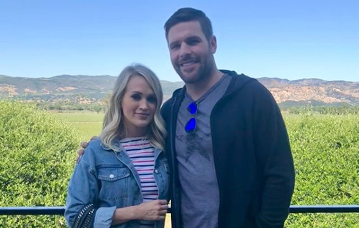 carrie underwood wine country