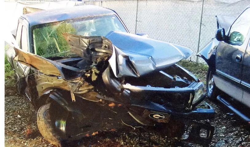 Brantley Gilbert Car Crash