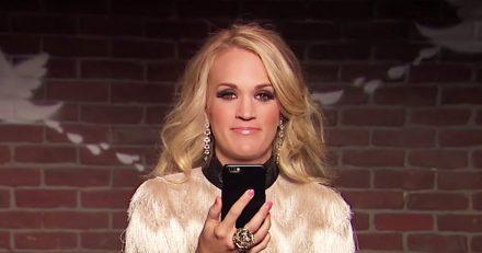 Carrie Underwood Mean Tweets