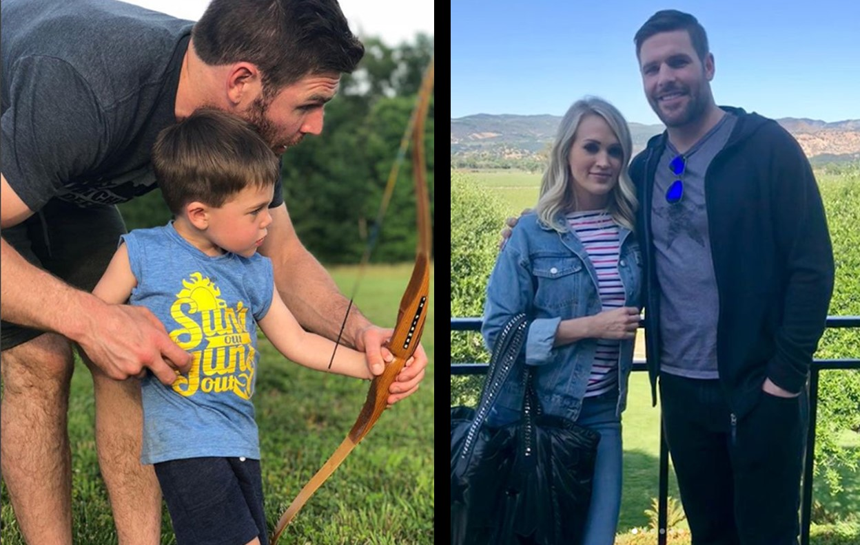 carrie underwood son archery
