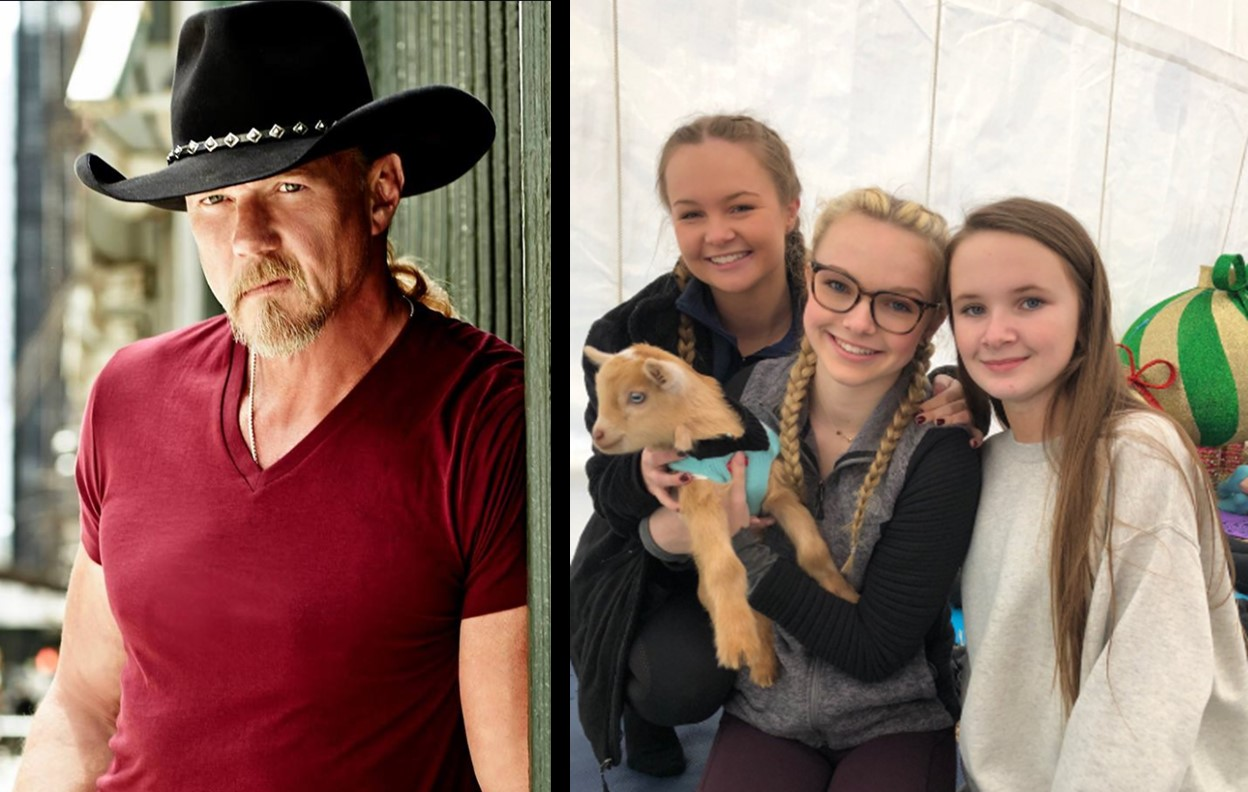 Trace Adkins & His Five Daughters