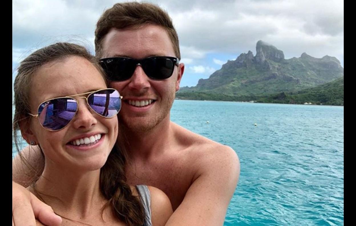 scotty mccreery wife honeymoon