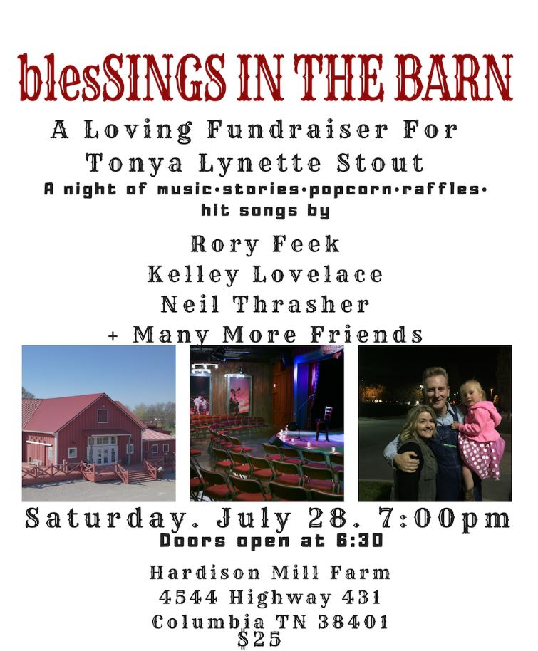 rory feek benefit concert