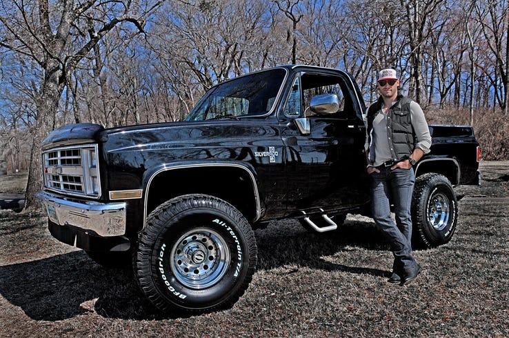Chase Rice Silverado Truck
