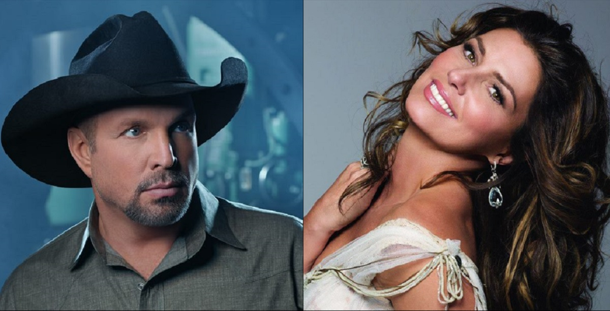 Garth Brooks and Shania Twain