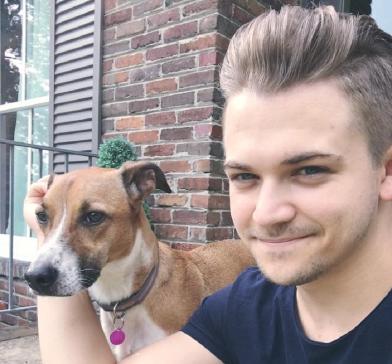 Hunter Hayes Dog