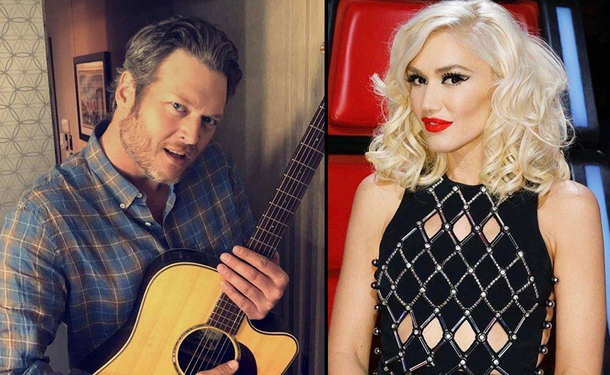 blake shelton single gwen stefani