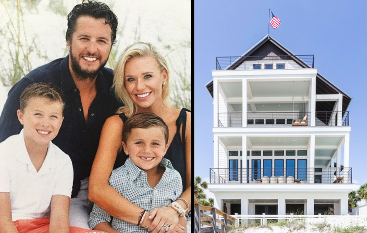 luke bryan's beach house
