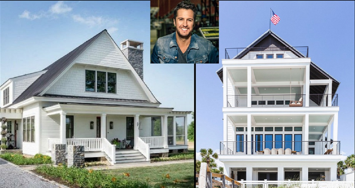 Luke bryan homes guide to luke 39 s two houses for Home builders guide