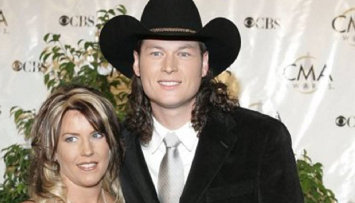 Kaynette Williams and Blake Shelton