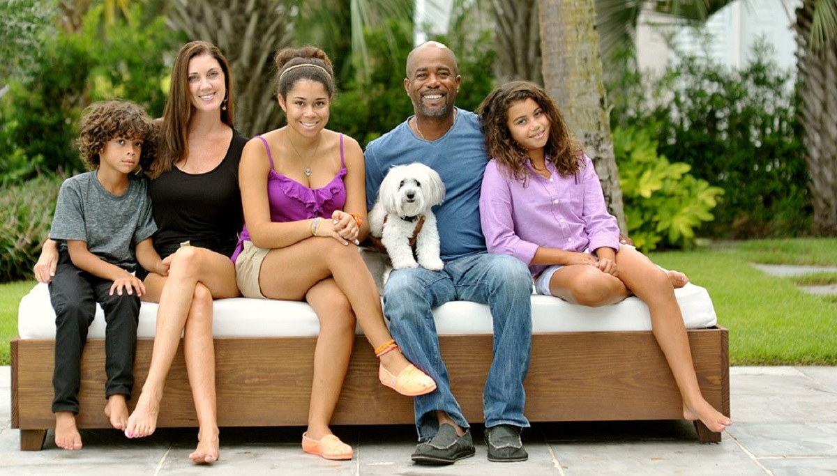 Darius Rucker Family Photo