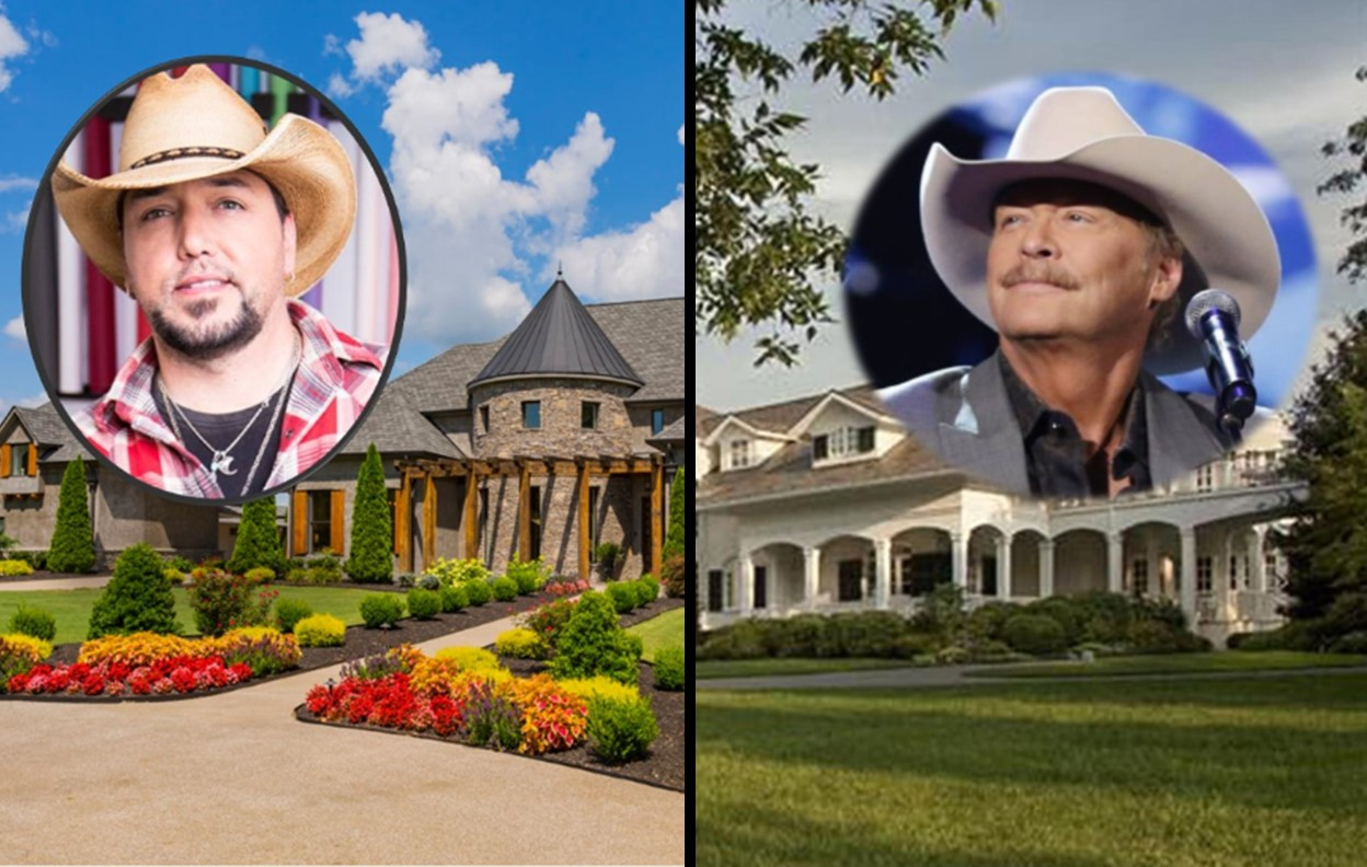 Country Music Star homes