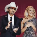 cma awards carrie underwood brad paisley