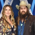 chris stapleton wife morgane baby