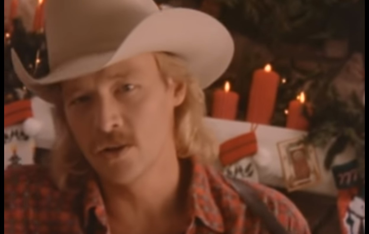 """Alan Jackson """"I Only Want You For Christmas"""" Music Video"""