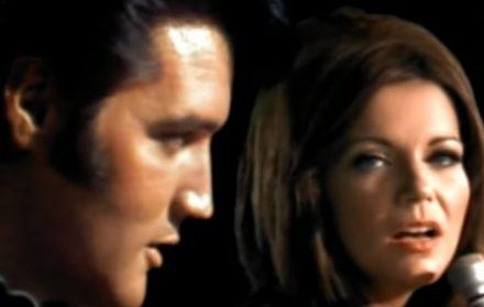 Elvis Presley Christmas Music.Elvis Presley Martina Mcbride Blue Christmas Music Video